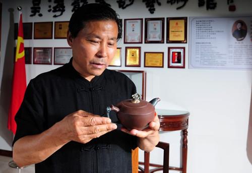 先锋人物手工艺紫砂五代传承人—吴海龙